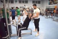 SPOR MERKEZİ - İbrahimli Spor Merkezinde Ramazan Mesaisi