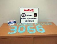 Mersin'de 3 Bin 66 Adet Uyuşturucu Hap Ele Geçirildi