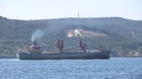 Rus Askeri Kargo Gemisi Boğazdan Geçti