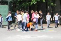 Safranbolu'da Okul Bahçeleri Öğrenciler İçin Renklendi