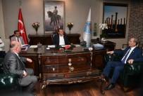 TGF Genel Başkanı Karaca'dan Başkan Seçer'e Ziyaret