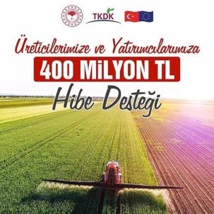 TKDK 400 Milyon TL Hibe Dağıtacak