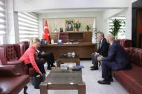 ABD Adana Konsolosluğundan Mardin Büyükşehir Belediyesine Ziyaret