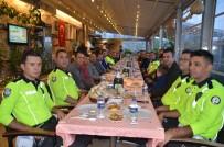 Akseki'de  Bölge Trafik Polisleri İftarda Buluştu