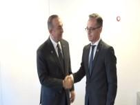 MEVLÜT ÇAVUŞOĞLU - Çavuşoğlu, Almanya Dışişleri Bakanı Maas İle Görüştü