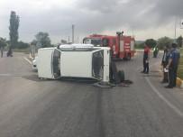 Denizli'de Trafik Kazası Açıklaması 3 Yaralı