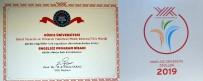 ENGELLİ ÖĞRENCİLER - Düzce Üniversitesine 'Engelsiz Program Nişanı'