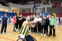 TEKERLEKLİ SANDALYE BASKETBOL - Engelliler Haftası'nda İhlas Kolejinden Farklı Etkinlik