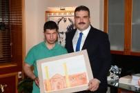 GÖRME ENGELLİ - Görme Engelli Sporculardan Rektör Çomaklı'ya Kupalı Ziyaret