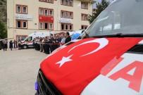 Gümüşhane'de 7 Yeni Ambulans Hizmete Alındı