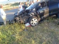 Kahramanmaraş'ta Feci Kaza Açıklaması 1'İ Bebek 5 Yaralı