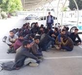 KAÇAK GÖÇMEN - Kayseri'de 21 Kaçak Göçmen Yakalandı