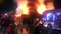 GÜVENLİK ÖNLEMİ - Küçükçekmece'de İmalathane Yangını