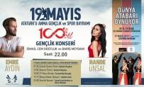 ATATÜRK ANITI - Kuşadası'nda 19 Mayıs'ta Emre Aydın Ve Hande Ünsal Ücretsiz Halk Konseri Verecek