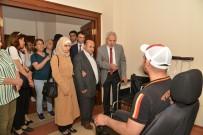 İŞİTME ENGELLİLER - Mızraklı, Engelli Empati Odalarını Test Etti