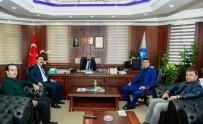 TAKVA - Rektör Şevli'ye Ziyaretler Devam Ediyor