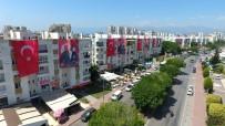 MİLLİ BAYRAM - Tekelioğlu Caddesi  Türk Bayrakları Ve Atatürk Posterleri İle Donatıldı.