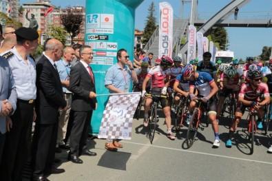 Uluslararası Yavuz Sultan Selim Karadeniz Bisiklet Turu Start Aldı
