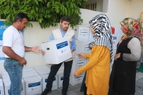 Yüz Aileye Ramazan Kolisi Dağıtıldı