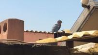 Ayrılmak İstemedi, Çatıda İntihara Kalkıştı