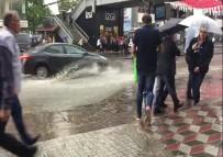 YAĞAN - Başkentte Sokaklar Göle Döndü