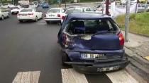 GÜLHANE - Başkentte Zincirleme Trafik Kazası Açıklaması 3 Yaralı