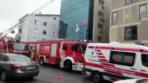 Beykoz'da İş Merkezinde Yangın