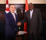 ÇAVUŞOĞLU - Çavuşoğlu, Küba Halkın Gücü Parlamento Başkanı İle Görüştü