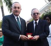 MEVLÜT ÇAVUŞOĞLU - Çavuşoğlu'ndan Kübalı Tarihçiye Ödül