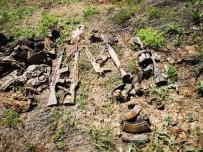 Çukurca Kırsalında PKK'ya Ait Çok Sayıda Silah Ve Mühimmat Ele Geçirildi