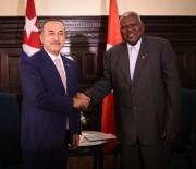 ÇAVUŞOĞLU - Dışişleri Bakanı Çavuşoğlu, Küba Halkın Gücü Parlamento Başkanı İle Görüştü