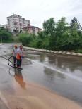 Kaynarca Caddesi'nde Yollar Yıkandı