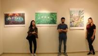 KBÜ Resim Bölümü Öğrencilerinin Deneysel Çalışmaları Sergilendi