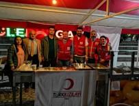 Kızılay'dan Gençlik Haftası'nda Lokma İkramı
