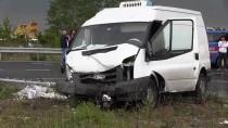 Tekirdağ'da Minibüsle Otomobil Çarpıştı Açıklaması 2 Ölü, 2 Yaralı