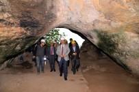 Vali Şentürk Arkeolojik Kazı Çalışmalarını İnceledi