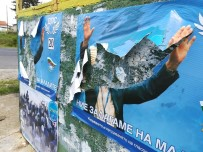 PROPAGANDA - Bulgaristan'da Türk Partilerinden Seçim Afişi Yırtma Yarışı