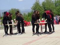 Hisarcık'lı Öğrencilerin Bardak Ritim Çalışması