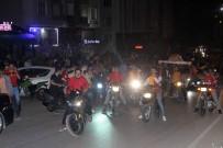 Kilis'te Galatasaraylı Taraftarların Şampiyonluk Kutlaması