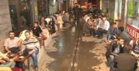 Konya'da İftardan Sonra Közde Çay Gelenek Haline Geldi