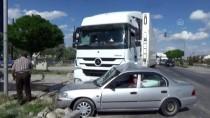 Konya'da Tır İle Otomobil Çarpıştı Açıklaması 2 Yaralı