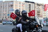 Motosiklet Tutkunları 'Demirden At'larını 19 Mayıs İçin Sürdü