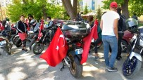 MOTOR SPORLARI - Motosiklet Ve Off-Road'culardan Türk Bayraklı Kortej