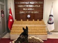 NARKOTIK - Pul Biber İle Kamufle Edilen Eroin, Narkotik Köpeği Alfa'ya Takıldı