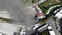 SEYRANTEPE - Sarıyer'de Geniş Alandaki İnşaat Malzemeleri Alev Alev Yandı