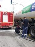 Seyir Halindeki LPG Tankeri Alev Aldı