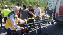 Suriyeli Öğrencileri Taşıyan Minibüs Takla Attı Açıklaması 12 Yaralı