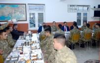 Vali Masatlı, Aktaş Sınır Karakolu'nda Mehmetçikle Birlikte İftar Açtı