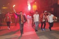 Zonguldak'ta Galatasaraylılar 22. Şampiyonluğu Coşkuyla Kutladı