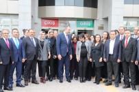 Adalet Bakını Gül'den Baro Ve Belediyeye Ziyaret